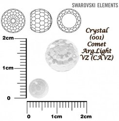 SWAROVSKI 4869 CRYSTAL COMET ARG-LIGHT VZ 6mm