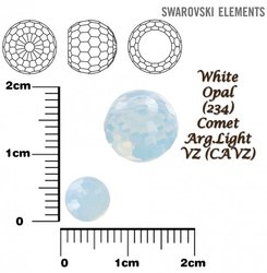 SWAROVSKI 4869 WHITE OPAL COMET ARG- LIGHT VZ 6mm