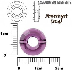 SWAROVSKI 5139 RING Bead AMETHYST 12mm