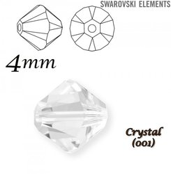 SWAROVSKI 5328 BEAD  CRYSTAL 4mm