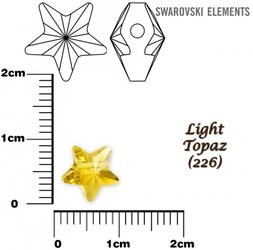 SWAROVSKI 5714 LIGHT TOPAZ 8mm