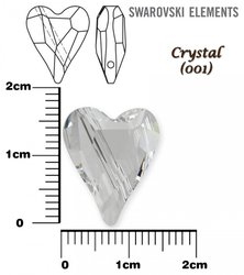 SWAROVSKI 5743 CRYSTAL  17mm