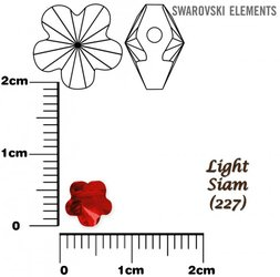 SWAROVSKI 5744 LIGHT SIAM 6mm