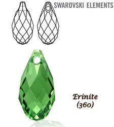 SWAROVSKI 6010 Briolette 13x6,5mm ERINITE