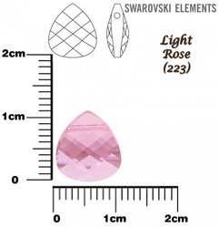 SWAROVSKI 6012 LIGHT ROSE 11mm