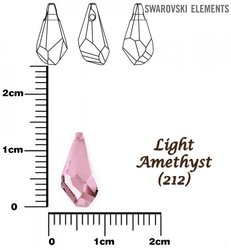 SWAROVSKI 6015 LIGHT AMETHYST  13mm