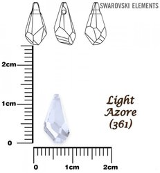 SWAROVSKI 6015 LIGHT AZORE  13mm