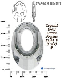 SWAROVSKI 6040 COMET ARGENT LIGHT V 40mm