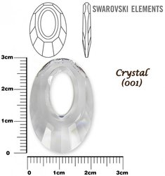 SWAROVSKI 6040 CRYSTAL 30mm