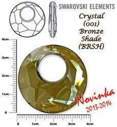 SWAROVSKI 6041 BRONZE SHADE 38mm