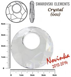SWAROVSKI 6041 CRYSTAL 38mm