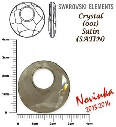 SWAROVSKI 6041 CRYSTAL SATIN 28mm