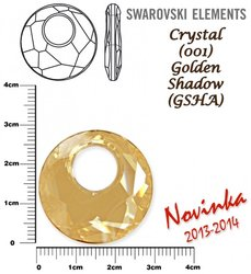 SWAROVSKI 6041 GOLDEN SHADOW 28mm