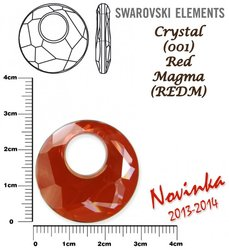 SWAROVSKI 6041 RED MAGMA 28mm