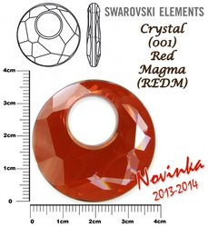 SWAROVSKI 6041 RED MAGMA 38mm