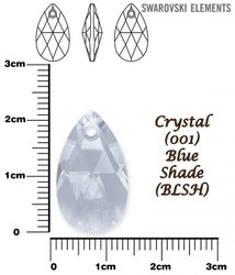 SWAROVSKI 6106 CRYSTAL BLUE SHADE 22mm