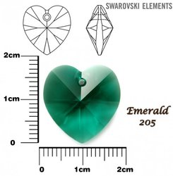 SWAROVSKI 6202 EMERALD 18x17mm