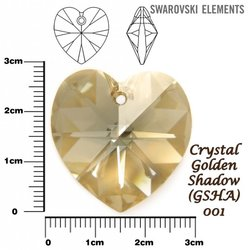 SWAROVSKI 6202 GOLDEN SHADOW 28mm
