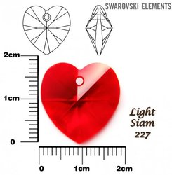 SWAROVSKI 6202 LIGHT SIAM 18x17mm