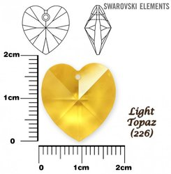 SWAROVSKI 6202 LIGHT TOPAZ 18x17,5mm