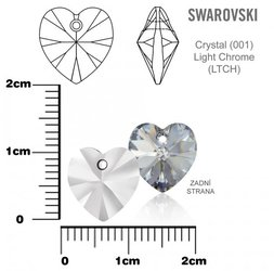 SWAROVSKI 6202 Light Chrome 10x10mm