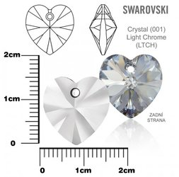 SWAROVSKI 6202 Light Chrome 14x14mm