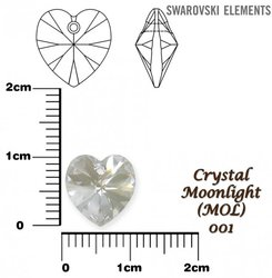 SWAROVSKI 6202 MOONLIGHT 10x10mm