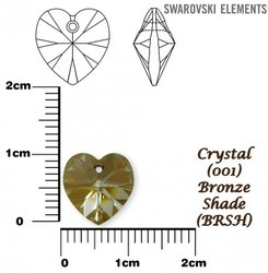 SWAROVSKI 6228 BRONZE SHADE 10x10mm