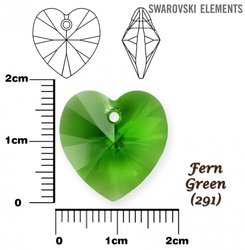 SWAROVSKI 6228 FERN GREEN 18x17mm