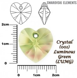 SWAROVSKI 6228 LUMINOUS GREEN 18x17mm
