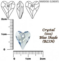 SWAROVSKI 6240 BLUE SHADE 12mm