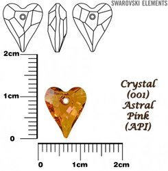 SWAROVSKI 6240 CRYSTAL ASTRAL PINK 12mm