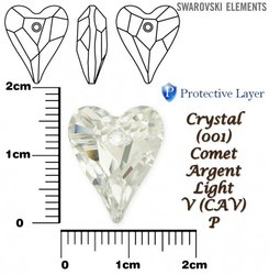 SWAROVSKI 6240 CRYSTAL COMET ARGENT LIGHT 17mm