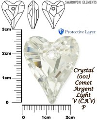 SWAROVSKI 6240 CRYSTAL COMET ARGENT LIGHT 27mm