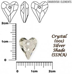 SWAROVSKI 6240 CRYSTAL SILVER SHADE 12mm