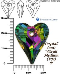 SWAROVSKI 6240 CRYSTAL VITRAIL MEDIUM 27mm