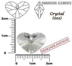 SWAROVSKI 6260 CRYSTAL  17mm