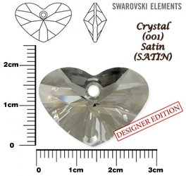 SWAROVSKI 6260 CRYSTAL SATIN  27mm