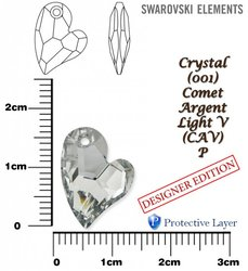 SWAROVSKI 6261 COMET ARGENT LIGHT 17mm