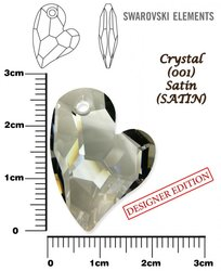SWAROVSKI 6261 CRYSTAL SATIN  27mm