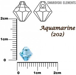 SWAROVSKI 6301 AQUAMARINE 6mm