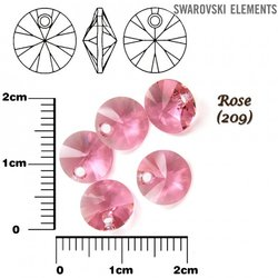 SWAROVSKI 6428 XILION ROSE 8mm