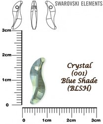 SWAROVSKI 6525 BLUE SHADE 19mm