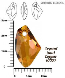 SWAROVSKI 6656 COPPER  27mm