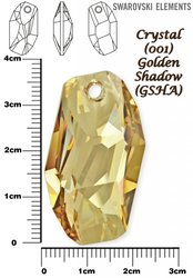 SWAROVSKI 6673 GOLDEN SHADOW 38mm