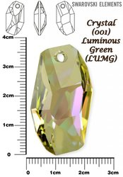 SWAROVSKI 6673 LUMINOUS GREEN 38mm
