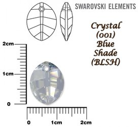 SWAROVSKI 6734 BLUE SHADE 14mm