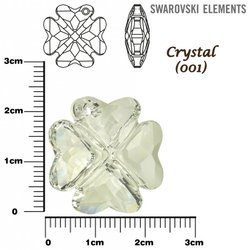SWAROVSKI 6764 CRYSTAL  23mm