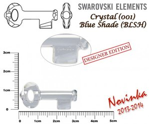 SWAROVSKI 6918 BLUE SHADE 30mm