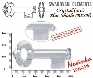 SWAROVSKI 6918 BLUE SHADE 50mm